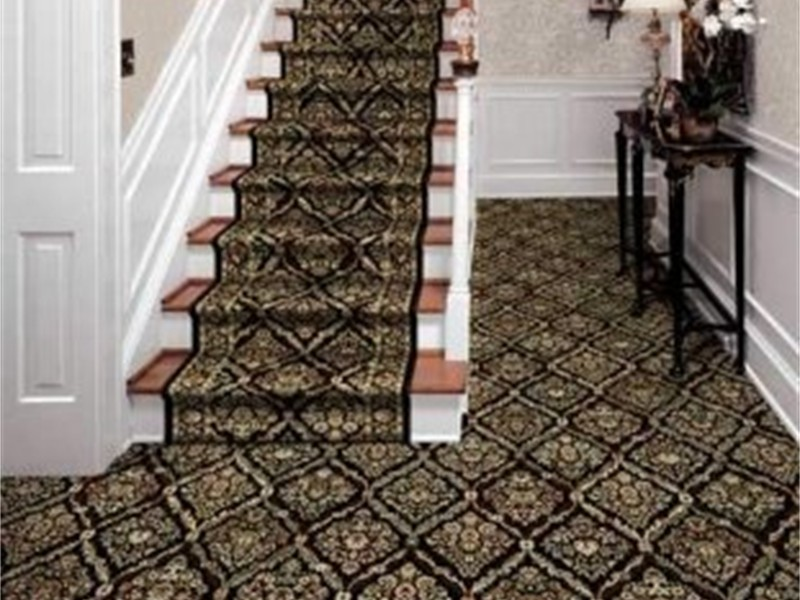 Davinci Nero - Kane Carpets on staircase