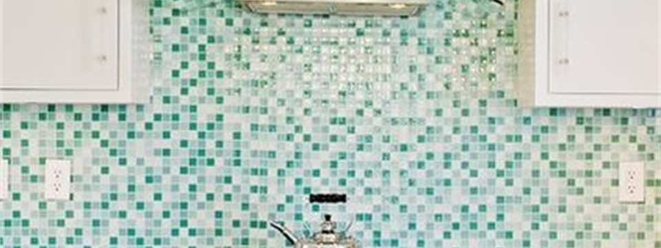 kitchen back splash glass tile